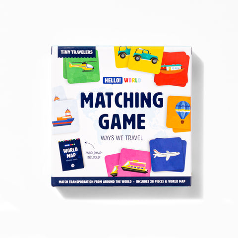 Matching Game - Ways We Travel