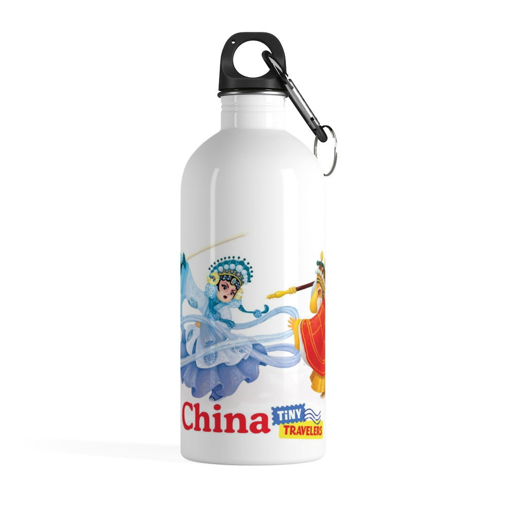 Tiny Travelers Chinese Opera Stainless Steel Water Bottle