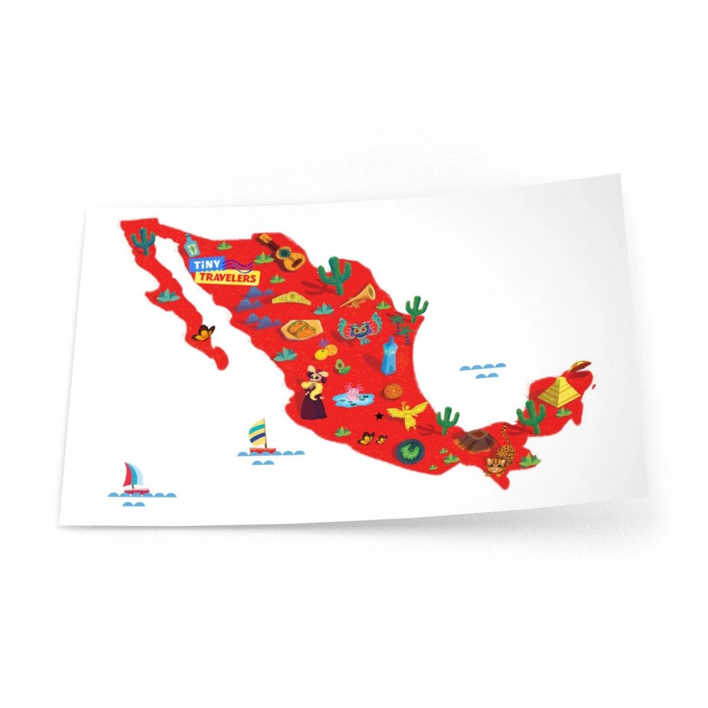 Tiny Travelers Mexico Wall Decal