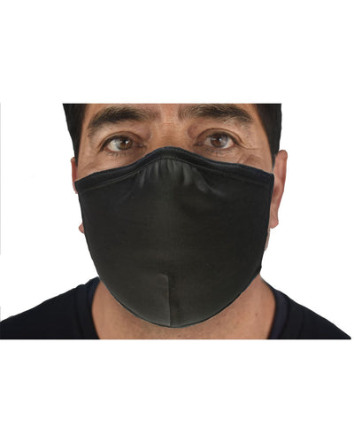 ANTI-MICROBIAL, DOUBLE LAYER, COTTON/LYCRA ADJUSTABLE MASK - Rocket Masks