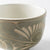 Yachimun up pottery garden of Arabesque lines carved Arabesque hand Bowl Green - adult pottery
