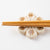 Writer Miki Sato Chopstick Rest (Beige)-I00177-Writer Miki Sato-Adult Pottery Online Shop