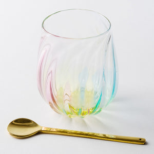 "Glass writer Mai Takeda Yuko glass ""にじ light"""