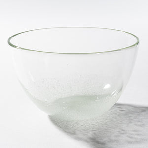 Reproduction glass studio てとてと cluster of clouds bowl (the small) (clear)