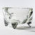 Recycled glass studio Tetoteto three-legged bean bowl (clear)