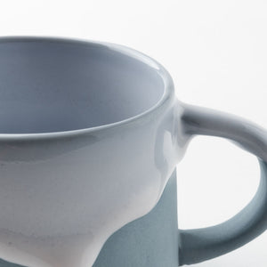 Writer Miyakoi Liu Slippy Mug Blue Gray