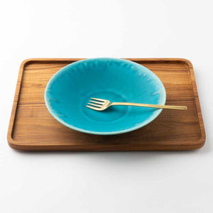 Writer Eiji Miyaki Bowl L Nile Blue