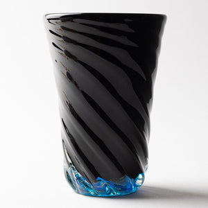 Verre Ryukyu Glass Studio32 Blue Cave Bottom Hole Long-K00350-Ryukyu Glass Studio verre32