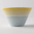 Mino Ware Shinko Kiln Pastel Jure Warraki Bowl Yellow × Blue (S)-Mino Ware Shinko Kiln
