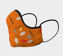 "Load image into Gallery viewer, Mels Holiday ""Fall Leaves II"" Face Mask"