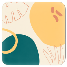 "Load image into Gallery viewer, Mels Holiday ""Summer Leaf"" Coasters"