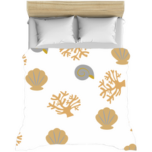 "Load image into Gallery viewer, Mels Holiday ""Seashell"" Duvet Covers"
