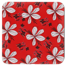"Load image into Gallery viewer, Mels Holiday ""Crismon & Cream"" Coasters"