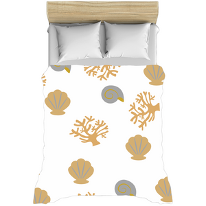 "Mels Holiday ""Seashell"" Duvet Covers"