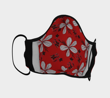 "Load image into Gallery viewer, Mels Holiday ""Lady Red"" Face Mask"