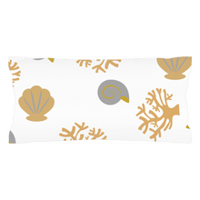 "Load image into Gallery viewer, Mels Holiday ""Seashell"" Pillow Shams"