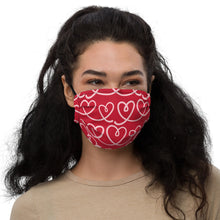 Load image into Gallery viewer, Valentines Day I Premium face mask by Mels Holiday