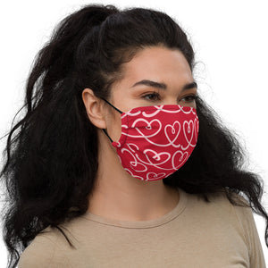 Valentines Day I Premium face mask by Mels Holiday