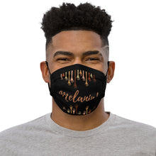 Load image into Gallery viewer, Melanin Premium face mask By Mels Holiday
