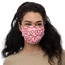 Load image into Gallery viewer, Valentine's Day II Premium face mask by Mels Holiday