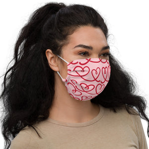 Valentine's Day II Premium face mask by Mels Holiday