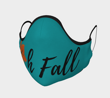 "Load image into Gallery viewer, Mels Holiday ""Oh Fall IV"" Face Mask"