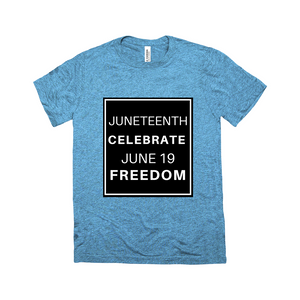 "Mels Holiday ""JUNETEENTH BLOCK"" T-Shirts"