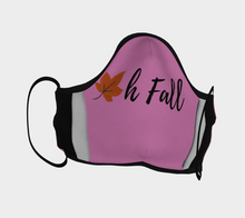 "Load image into Gallery viewer, Mels Holiday ""Oh Fall III"" Face Mask"