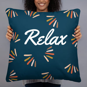 "Mels Holiday ""Relax"" Basic Pillow"