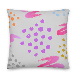 "Mels Holiday ""Funky"" Premium Pillow"