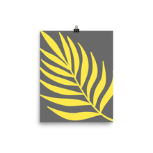 "Load image into Gallery viewer, Mels Holiday ""Yellow Leaf"" Poster"