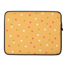 "Load image into Gallery viewer, Mels Holiday ""Festive I"" Laptop Sleeve"