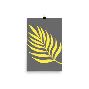 "Mels Holiday ""Yellow Leaf"" Poster"
