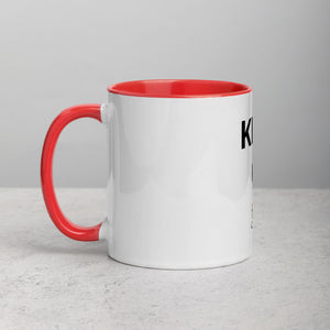"Mels Holiday ""King Of"" Mug with Color Inside"