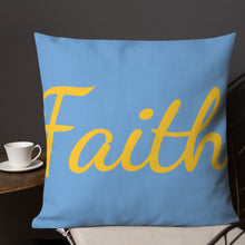 "Load image into Gallery viewer, Mels Holiday ""Faith Plus""Premium Pillow"