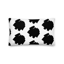 "Load image into Gallery viewer, Mels Holiday "" Fun Scribe"" Premium Pillow"