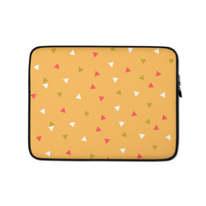 "Mels Holiday ""Festive I"" Laptop Sleeve"