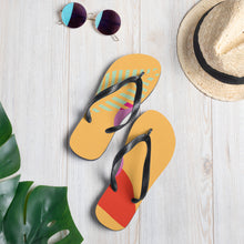 "Load image into Gallery viewer, Mels Holiday ""Summer Fun"" Flip-Flops"