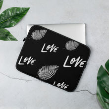 "Load image into Gallery viewer, Mels Holiday ""Love"" Laptop Sleeve"