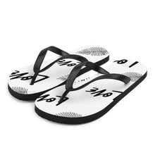 "Load image into Gallery viewer, Mels Holiday "" Love 2"" Flip-Flops"