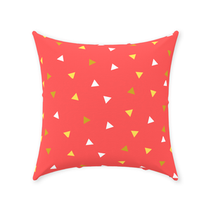 "Mels Holiday ""Festive III"" Throw Pillows"