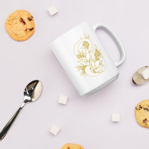 """S"" Monogram Mug by Mels Holiday"