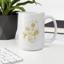 "Load image into Gallery viewer, ""S"" Monogram Mug by Mels Holiday"