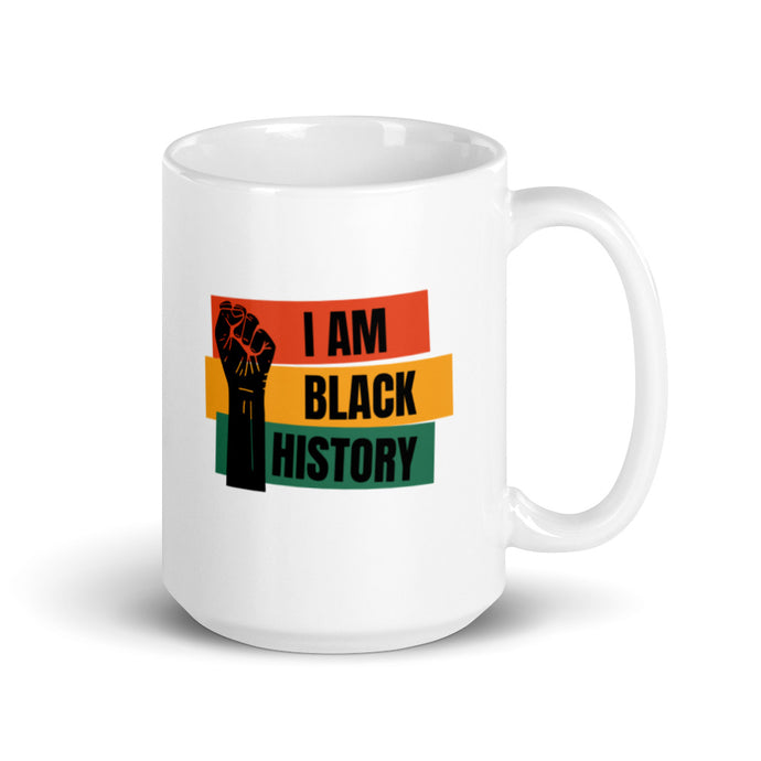 Black History Mug By Mels Holiday