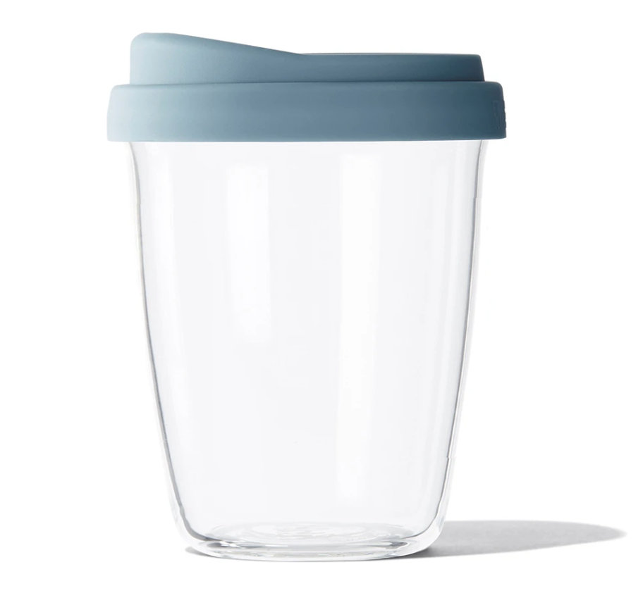 Blue Stone SoL Glass 8oz Reusable Cup