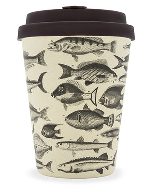 Toolondo Fishman 12oz Bamboo Cup