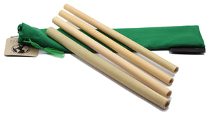 4 Straw Bamboo Set