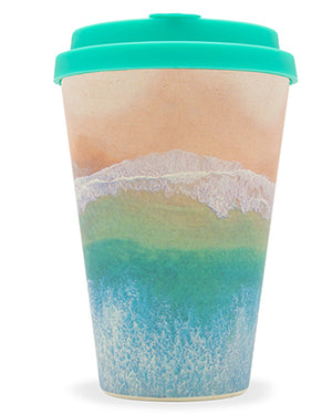 Porthcurno 14oz Bamboo Cup - Surfers Against Sewage