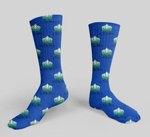 Load image into Gallery viewer, L.Y.L.W.L Custom Collection Mid Calf Sock - Living Your Life Without Limits Shop