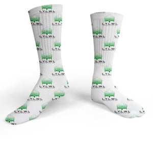 L.Y.L.W.L Custom Collection Mid Calf Sock - Living Your Life Without Limits Shop